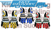 New yamaha Motogp racing leather gloves