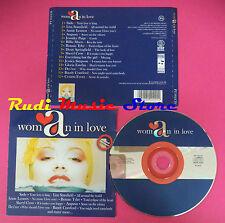 CD WOMAN IN LOVE Compilation JSADE ANGUNN ANNIE LENNOX CROW no mc vhs dvd(C37)
