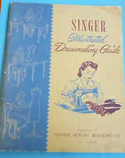 """New listing Used """"Singer Illustrated Dressmaking Guide"""" (copyright 1943) 7 Photos"""