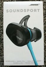 NEW Bose SoundSport Wireless Headphones AQUA. AUTHENTIC.Free Fast USA Shipping.