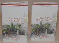 2 Hermes Un Jardin Sur La Lagune Toilette 4 mL Total Womens Fragrance Lot Set