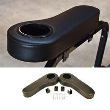 Golf Cart Arm Rest Cup Holder Mounts On Rear Seat EZGO Club Car Yamaha- No Drill