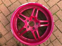 "17"" SPRINT ALLOY WHEEL FAST FREE P&P"