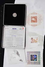 1999 2000 Canada Millennium Stamp & Coin Set 2000 Medal & Stamps