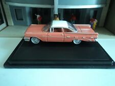 Oxford  1959  PONTIAC  BONNEVILLE   Sunrise Coral    1/87  HO  diecast   GM  NEW