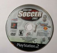 World Tour Soccer 2003 PS2 (Sony PlayStation 2, 2003)