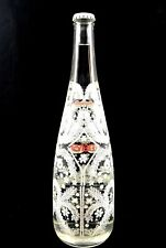 2008 EVIAN LIMITED EDITION CHRISTIAN LACROIX GLASS SNOWFLAKE BOTTLE - UNOPENED!