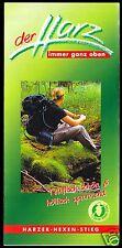 Prospekt, Harzer Hexen-Stieg, Wanderrouten durch den Harz, um 2010
