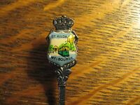 St. Kilda Melbourne Australia Tram Vintage Souvenir Collectible Demitasse Spoon