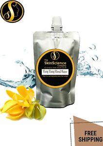 Organic Ylang Ylang Floral Water Hydrosol Floral Water Mist Toner