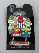 Disney DLR Pin Annual Passholder Exclusive Toy Story Mania Launching 2008 Dangle