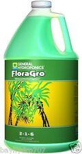 New listing General Hydroponics 1 Gallon of FloraGro Liquid Plant Grow Formula / Gh1423