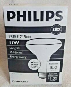 PHILIPS - 473843 11BR30/LED/827DIM BR30 LED 11 Watt Dimmable Bulb
