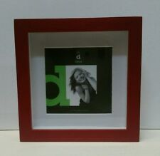 Red square shadow box photo picture frame 10x10/14x14 RRP $39.95