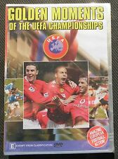 GOLDEN MOMENTS Of The UEFA CHAMPIONSHIPS     DVD    FOOTBALL / SOCCER HIGHLIGHTS