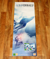 Ace Combat 7 Skies Unknown PS4 Xbox One Rare Promo Poster 105x38cm