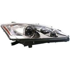 For ES350 07-09, Passenger Side Headlight, Clear Lens