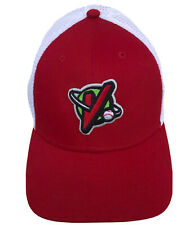 Great Falls Voyagers Red Cap Hat 39Thirty New Era Fitted M/L Minor League