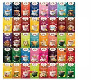 Yogi Tea Organic Aryuvedic Herbal Tea 17 Tea Bags 40 Flavours