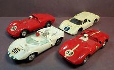 Strombecker 1:32 Slot Car lot Ferrari Dino Chaparral Ford