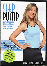 Step Pump w/ Tonya Larson . Workout to Slim & Tone . Abs & Core . Fitness DVD