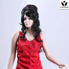 【Sale】Party wigs female curly wigs black fashion hair female wigs