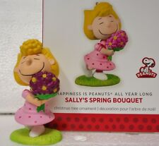 HALLMARK 2014 Happiness is Peanuts All Year Long SALLY'S SPRING BOUQUET 10th
