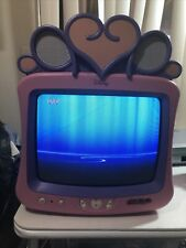 Disney Dt1350-P 13 inch Analog Crt Television No Remote See Photos For Condition