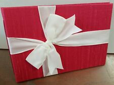 Wedding Guest Book - Raspberry Pink -New