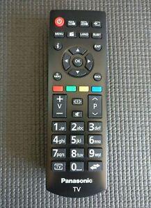 Genuine PANASONIC Viera LCD / Plasma / LED TV's Remote Control MINT CONDITION