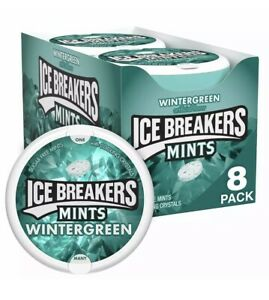 Ice Breakers Wintergreen Mints 8 Pack