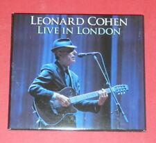 Leonard Cohen - Live in London - (Digipak) -- 2er-CD / Songwriter