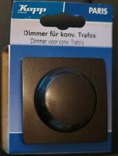 Kopp  Paris Dimmer für konventionelle Trafos palisander braun 803426085