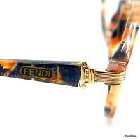 FENDI by Lozza occhiali da vista FV 222 069 49 18 135 VINTAGE '80S EYEGLASSES