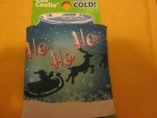 Can Coolie Keeps Drinks Cold Holiday Christmas Cooler Ho Ho Ho New
