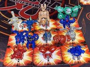 Bakugan Battle Brawlers Lot of 14 figures Rare