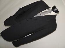 Black label Giorgio Armani men's Silk & Wool jacket coat 42 Long
