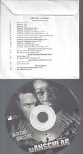 CD--RADIO-AUDIO PRESSKIT-PROMO-DER ANSCHLAG