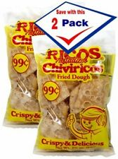 Chiviricos Cubanos. Fried dough. 2 oz. Pack of 2