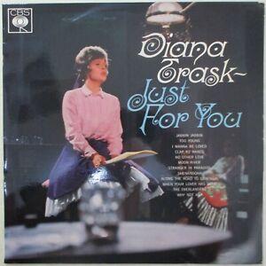 DIANA TRASK Just For You LP Orig COLUMBIA STEREO SBP 233214 Sven Libaek 1965