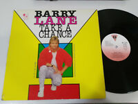 "Barry Lane - Take A Chance Maxi LP vinyl Vinyl 12 "" Spanisch Edition G VG"