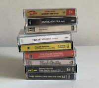 Frank Sinatra Music Cassette Tapes Bundle Job Lot X 9