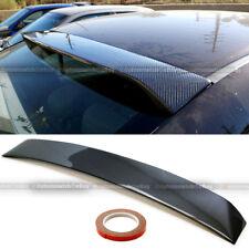Fit 12-15 Honda Civic 4DR Sedan Carbon Fiber Rear Window Roof Wing Spoiler Visor