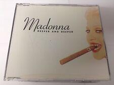 Deeper And Deeper 2003 CD Madonna MINT