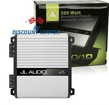 JL AUDIO JX500/1D 500W MONO BLOCK CLASS D 1 CHANNEL CAR STEREO MOSFET AMP NEW