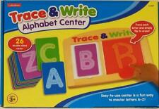 Lakeshore Trace & Write Alphabet Center, Double Sided Cards, Upper & Lower Case.