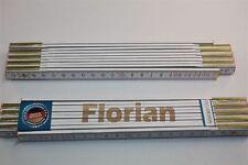 Zollstock mit Namen     FLORIAN    Lasergravur 2 Meter Handwerkerqualität