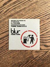 Rare Banksy Blur Promo CD - Taiwanese  Version