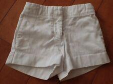 Girls Shorts CREWCUTS J Crew White Size 2 100% Cotton