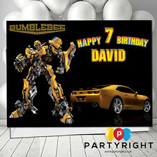 Personalised Transformers Bumblebee Birthday / Any Greetings Card A5 Your Name